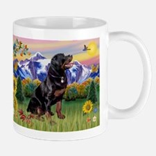 Rottie in Mountain Country Mug
