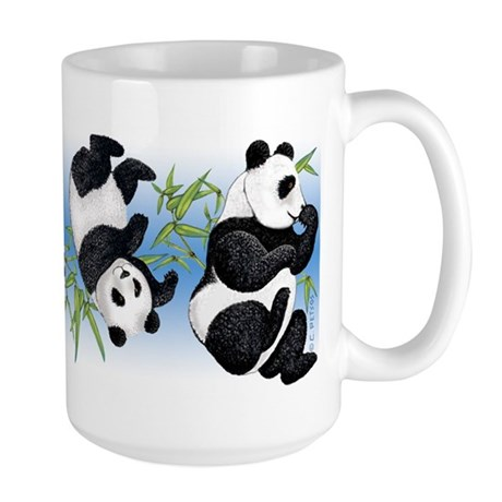 Panda Bears Large Mug