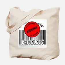 AIDS/HIV FINDING A CURE Tote Bag