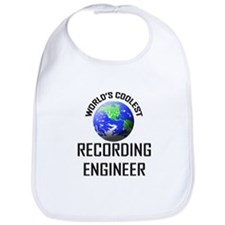 World's Coolest RECORDING ENGINEER Bib