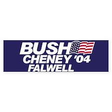 Bush, Cheney, Falwell Bumper Bumper Sticker