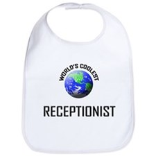 World's Coolest RECEPTIONIST Bib