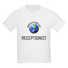 World's Coolest RECEPTIONIST T-Shirt
