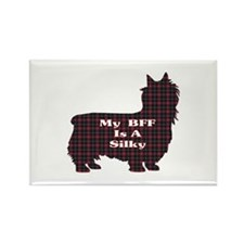 BFF Silky Terrier Rectangle Magnet (100 pack)