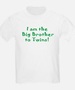 I am the Big Brother of Twins! T-Shirt