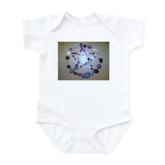 Naturally Magickal Pentacle Infant Bodysuit