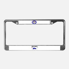 MONKEY License Plate Frame