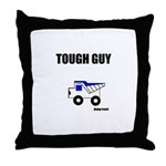 TOUGH GUY (KIDS DESIGN) Throw Pillow