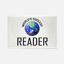 World's Coolest READER Rectangle Magnet