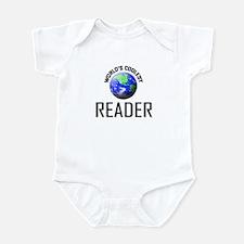 World's Coolest READER Infant Bodysuit