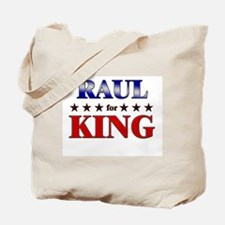 RAUL for king Tote Bag