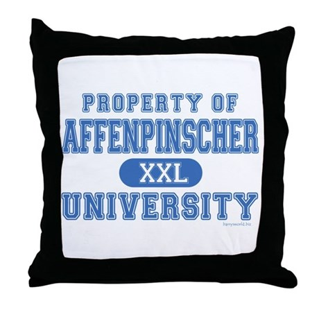 Affenpinscher U. Throw Pillow