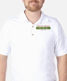 Which one is autistic? Golf Shirt