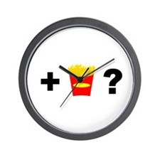 Want Fries? Wall Clock
