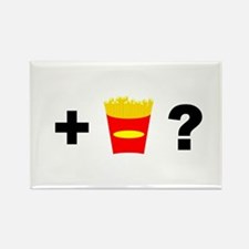 Want Fries? Rectangle Magnet (100 pack)