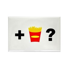 Want Fries? Rectangle Magnet (10 pack)