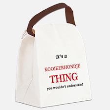 It's a Kooikerhondje thing, y Canvas Lunch Bag