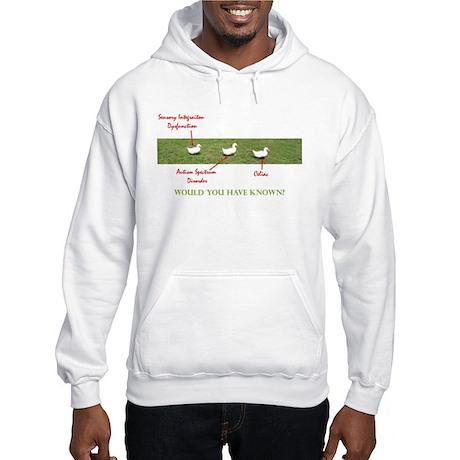 Disability Ducks Hooded Sweatshirt