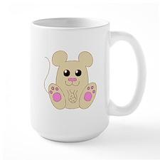 Sweet Brown Mouse Mug