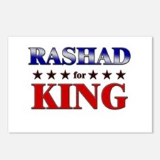 RASHAD for king Postcards (Package of 8)