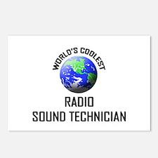 World's Coolest RADIO SOUND TECHNICIAN Postcards (