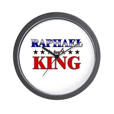RAPHAEL for king Wall Clock