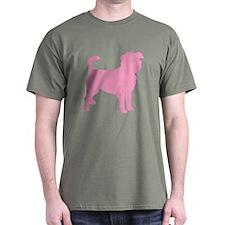 Pink Affenpinscher T-Shirt