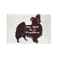 BFF Papillon Rectangle Magnet (10 pack)