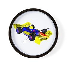 Race Face F1 Wall Clock