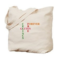 Celiacs Gluten Free Forever Tote Bag