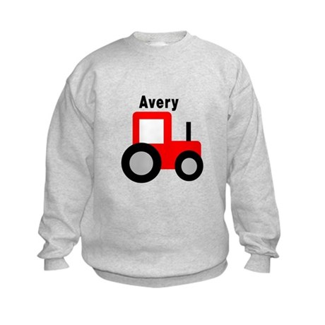 Avery - Red Tractor Kids Sweatshirt