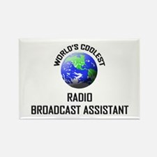 World's Coolest RADIO BROADCAST ASSISTANT Rectangl
