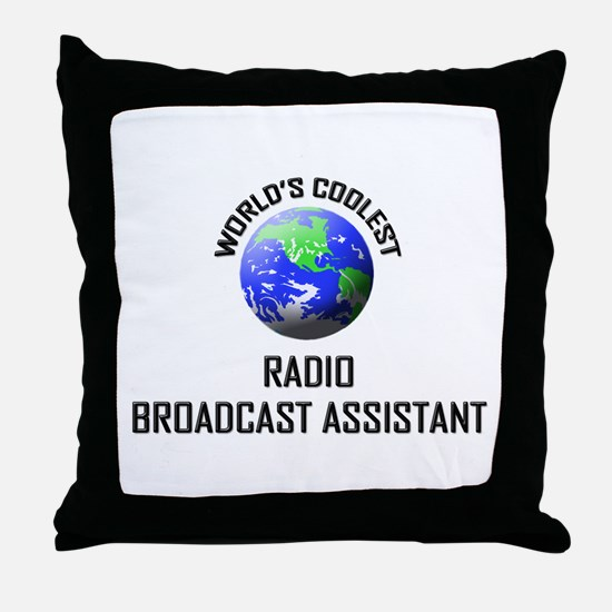 World's Coolest RADIO BROADCAST ASSISTANT Throw Pi