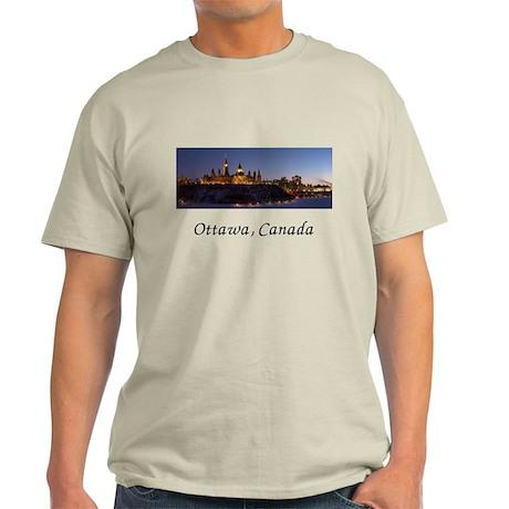 Ottawa Skyline Light T-Shirt