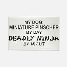 Min Pin 2 Deadly Ninja Rectangle Magnet