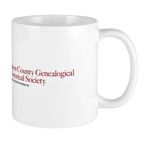 Hudson County Genealogical Society Mug
