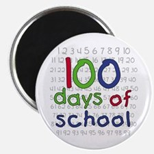 """Numbers 100 Days 2.25"""" Magnet (10 pack)"""