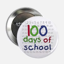 """Numbers 100 Days 2.25"""" Button (10 pack)"""