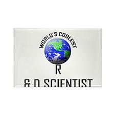 World's Coolest R & D SCIENTIST Rectangle Magnet