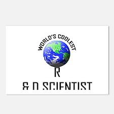 World's Coolest R & D SCIENTIST Postcards (Package