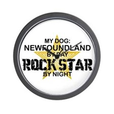 Newfoundland RockStar Wall Clock
