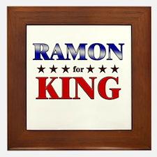 RAMON for king Framed Tile