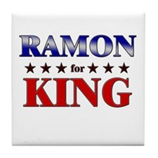 RAMON for king Tile Coaster