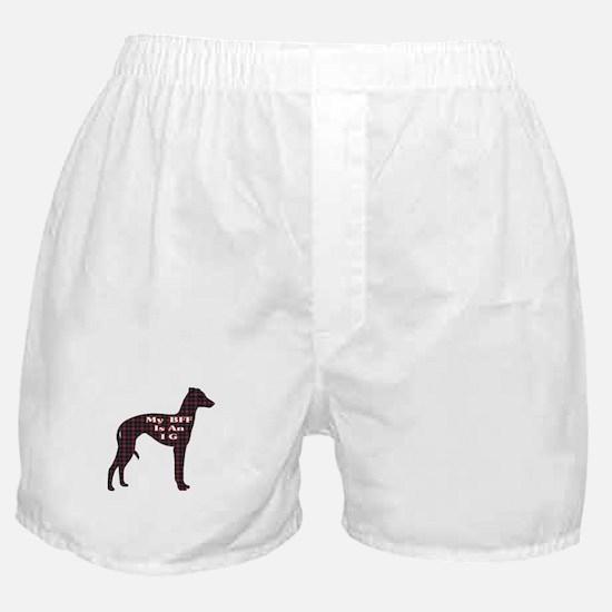 BFF Italian Greyhound Boxer Shorts