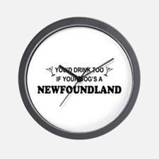 Newfoundland You'd Drink Wall Clock