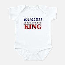 RAMIRO for king Infant Bodysuit