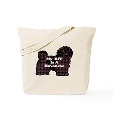 BFF Havanese Tote Bag