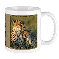 Cheetah Mother And Baby Mug