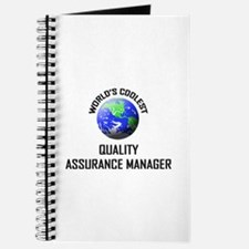World's Coolest QUALITY ASSURANCE MANAGER Journal