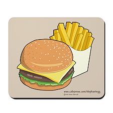 Burger 'n' Fries - Mousepad